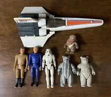 Mattel Battlestar Galactica Lot Of 6 Figurines/ 1 Viper. 1978