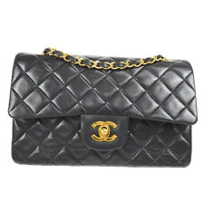 CHANEL Classic Double Flap Small Chain Shoulder Bag 1783477 zq Black 80536