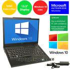 "Dell Laptop Latitude Core Windows 10 32bit Win Wifi Notebook Pc 13.3"" Hd 3gb"
