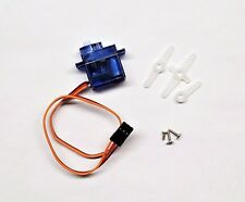 1 x SG90 Mini Gear Micro 9g Servo + Horn For RC Helicopter Airplane Boat Car USA