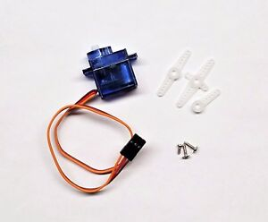 3 x SG90 Mini Gear Micro 9g Servo + Horn For RC Helicopter Airplane Boat Car USA