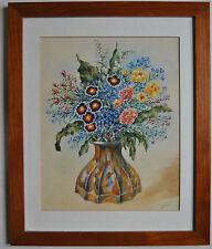 Künstlerische Aquarell-Malereien auf Papier im Realismus-Stil von 1950-1999