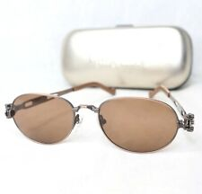 Jean Paul Gaultier 56-8102 sunglasses bronze brown spring jpg vintage oval