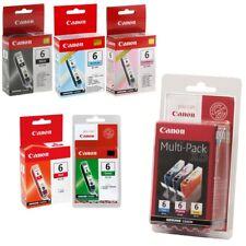 Original Canon BCI-6 Multipack Ink Cart (BCI-6BK / C/ M/ Y/ PC/ PM/ R/ G) NO BOX