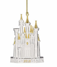 Lenox 2018 Disney Castle Ornament