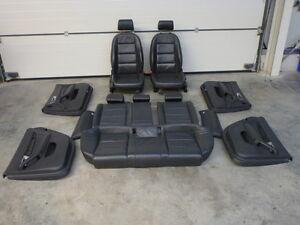 Audi A6 4F Avant Sitze Ledersitze Leder Lederausstattung schwarz GUTER ZUSTAND