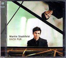 Martin STADTFELD: BACH PUR 2CD Italian Concerto French Suite Fantasie Inventions