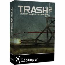 Izotope Trash 2 Distortion Processing mutliband compressor Plug-in Mac/PC