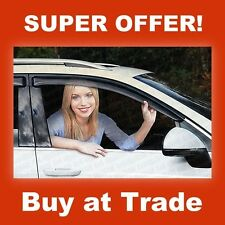 CHEVROLET CAPTIVA 2006-on TINTED WIND DEFLECTORS VISORS SET OF 4 FRONT AND REAR