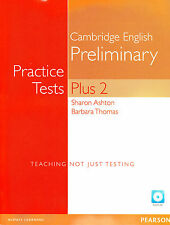 Cambridge English Preliminary PET PRACTICE TESTS PLUS 2 + CD-ROM & Audio CDs New