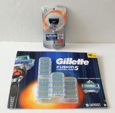 Gillette Fusion5 ProGlide Cartridges 16-count + Gillette Fusion ProGlide Razor