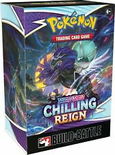 Build and Battle Box Chilling Reign Pokemon TCG SEALED