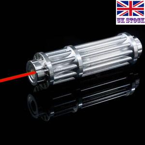 RX3-A Adjustable Focus 1MW 650nm Red Laser Pointer Flashlight Laser Torch Pen UK