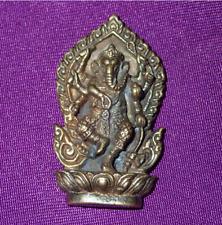 Lord Ganesh Amulet Hindu Ganesha Elephant Amulet Buddha Pendant Magics Figure