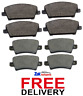 FOR HONDA CIVIC 1.4 1.8 2.2 CDTi (2006-2011) FRONT AND REAR BRAKE PADS SET *NEW*