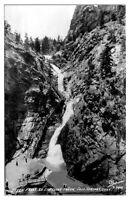 RPPC Seven Falls, South Cheyenne Canon, Colorado Springs, CO Postcard *223