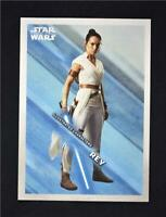2019 Topps Star Wars Rise of Skywalker Illustrated Characters #IC-1 Rey