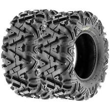 SunF  ATV Tires 22x10-12 22x10x12 All Terrain 6 PR A033  Power I [Set of 2]