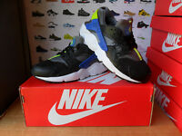 "Unisex Nike""HUARACHE""Trainers Size UK 4-EU 36.5 Black-Grey USED TWICE"