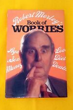 Book of Worries by Robert Morley FREE AUS POST good condition used hardback 1979