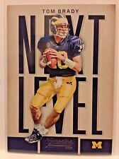 2016 CLASSICS FOOTBALL NEXT LEVEL SUB SET TOM BRADY   WM1
