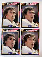 (4 Lot) Dan Marino Kenner Starting Lineup NFL Football Card Miami Dolphins