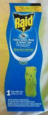 Raid Wasp Yellow Jacket Wasp and Hornet Traps with Lure Green