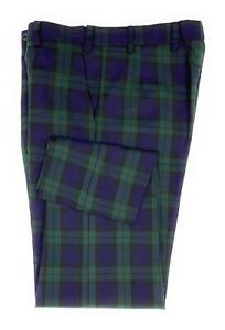 Mens Scottish Black Watch Tartan Trousers Available in Various Sizes