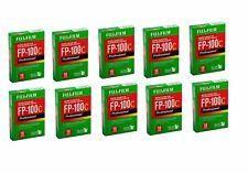 10 PACKS Fujifilm  FP-100C Instant Color Film 10 Exposures Instant EXP '2019 ''