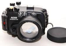 MEIKON a6300 custodia subacquea underwater case x SONY a6300/a6500 zoom 16-50