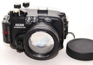 MEIKON a6300 Sorgerecht Unterwasser- Unterwasser Case X Sony a6300/a6500 Zoom