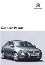 VW PASSAT B6 Limousine Prospekt Sales Brochure mit Technik Ausstattungen /18