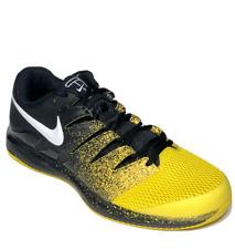 Nike Air Zoom Vapor X Mens Tennis Shoes 9.5 Black Speed Yellow AA8030-013