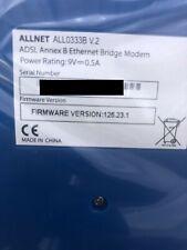 ALLNET ALL0333B V. 2 DSL-Ethernet-Modem