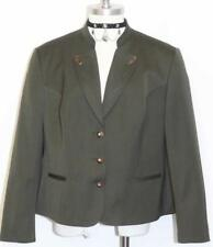 "LODENFREY WOOL Hunting Riding Jacket Green AUSTRIA Winter Short Coat B45"" 14 L"
