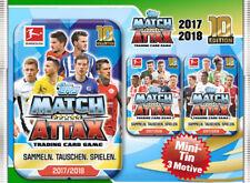 Topps Match Attax 2017/2018 Mini Tin Dose inkl. 1x Limitierte Auflage 17/18
