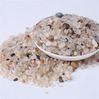Wholesale 200g Bulk Tumbled Stones White Agate Quartz Crystal Healing Mineral