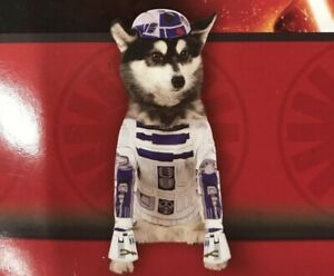 NEW Star Wars R2-D2 Pet Halloween Costume Size Large MSRP $16.99