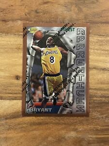 Kobe Bryant 1996-97 Topps Finest Rookie Card # 74 with Coating  RC