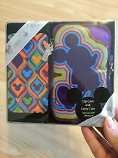 New Walt Disney world mickey Color fusion iPhone 4 case and carry case set 2pc