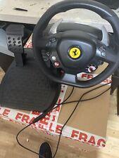 Thrustmaster ferrari 458 RW xbox 360 PC V.4 Racing Steering Wheel And Pedals