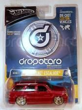 Hot Wheels Dropstars 2002-2006 Cadillac Escalade Luxury SUV Red - 1:50 Scale