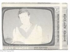 1967 Scanlens (27) Stuart MAGEE South & (43) Man From U.N.C.L.E. Rare Error