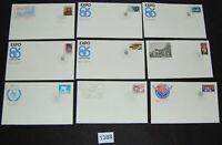 Canada collection lot of 27 Canada Post Official FDC 1980s  [FD1388]