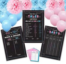 Baby gender reveal party supplies FAST  FREE SHIPPING 3 days