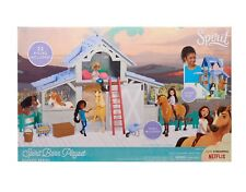 Spirit Riding Free Horse Barn Stable Play Set with Lucky Doll and Horse