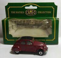 CORGI THE SIXTIES CAMEO COLLECTION CITROEN 2CV - BURGUNDY - BOXED