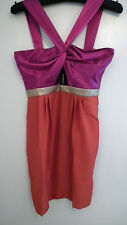 BNWT Ladies Contrast Cut out Dress in a size 12