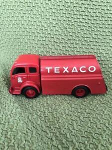 Tinplate Texaco truck Tin Toy Mini car Antique Vintage Retro