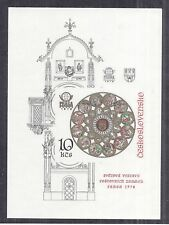 1978 Czechoslovakia S/S Souvenir Sheet SC 2190, MNH, Praga 78 Imperf